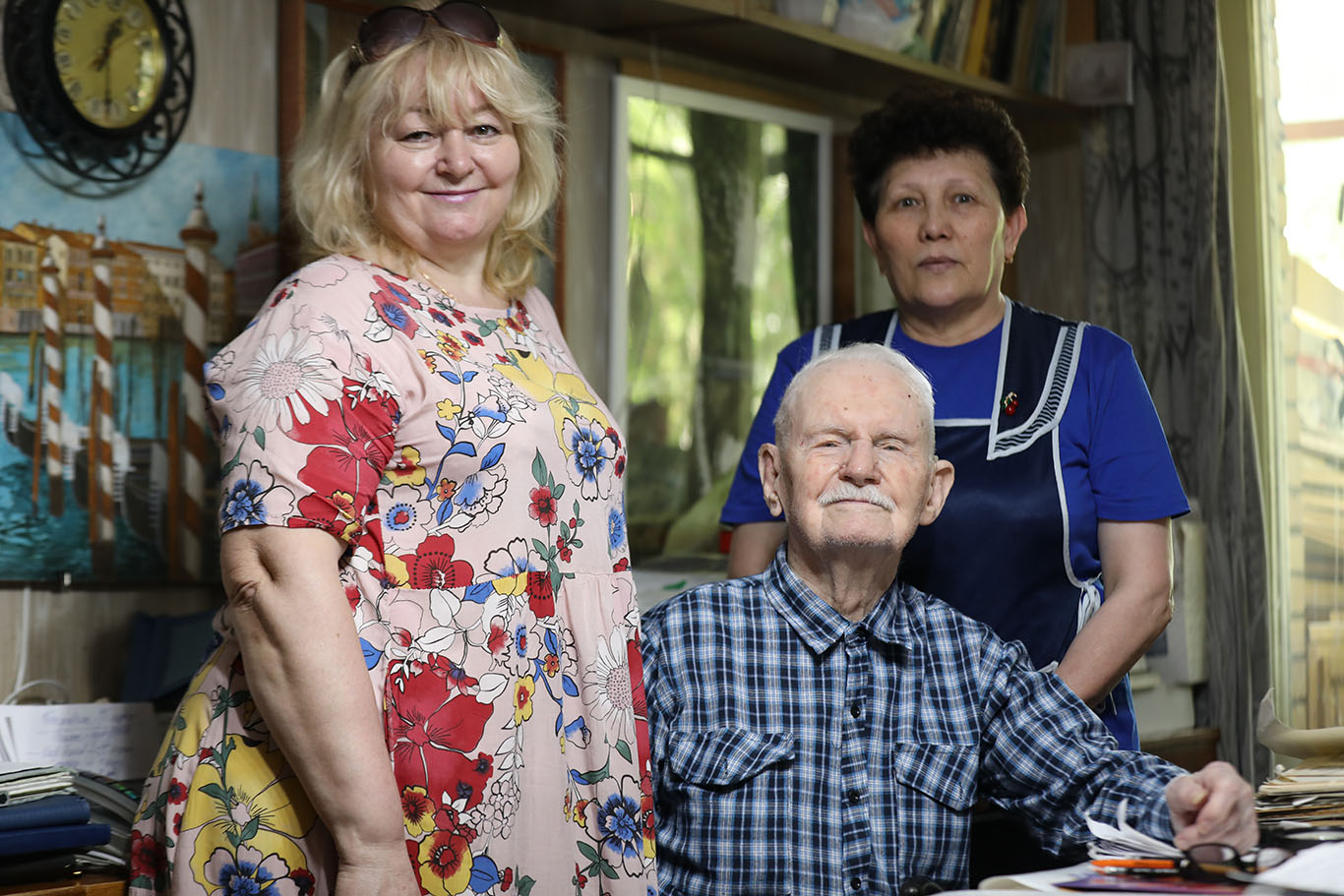 102-летний фронтовик сделал прививку от коронавируса