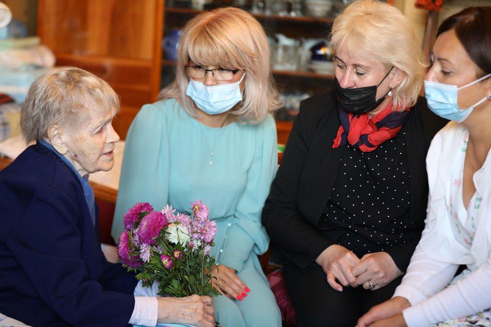 Вековой юбилей отметила ветеран Великой Отечественной войны Нина Федоровна Давлетбаева