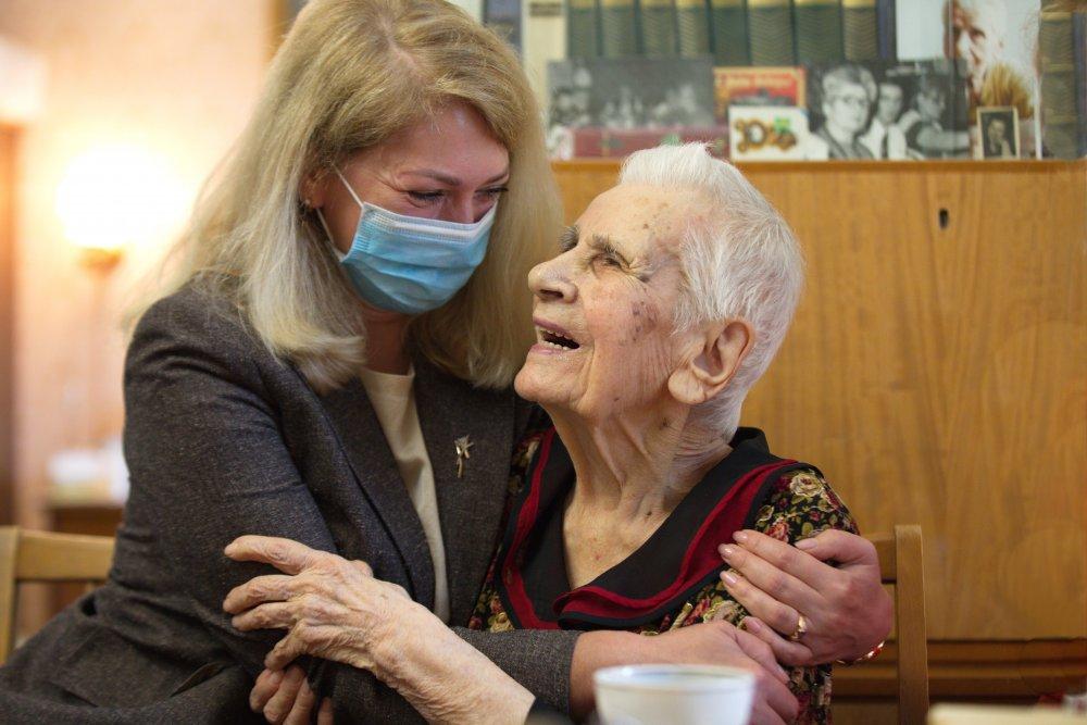 104-й день рождения отметила старейшая жительница Москвы