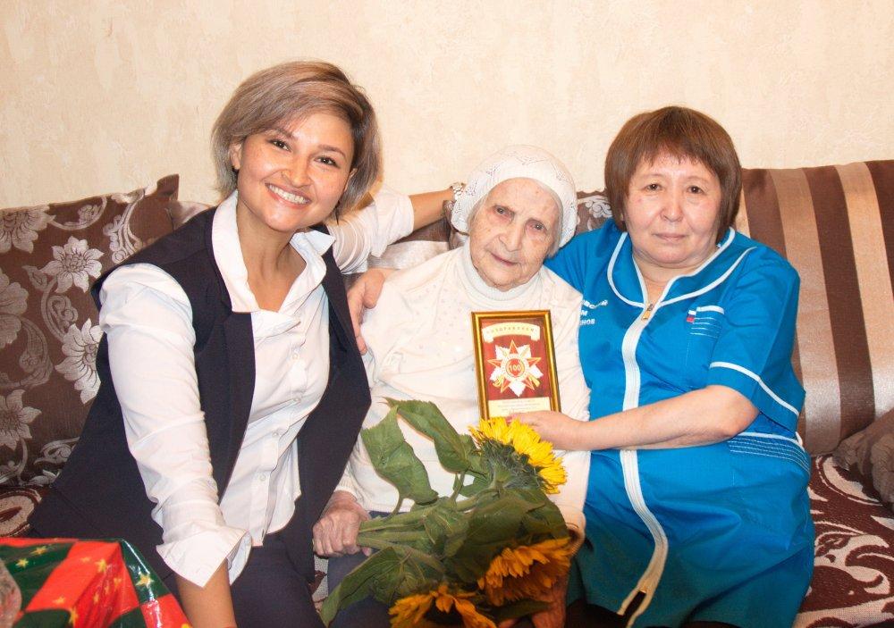Стальной характер: вековой юбилей отметила Вера Васильевна Бородина