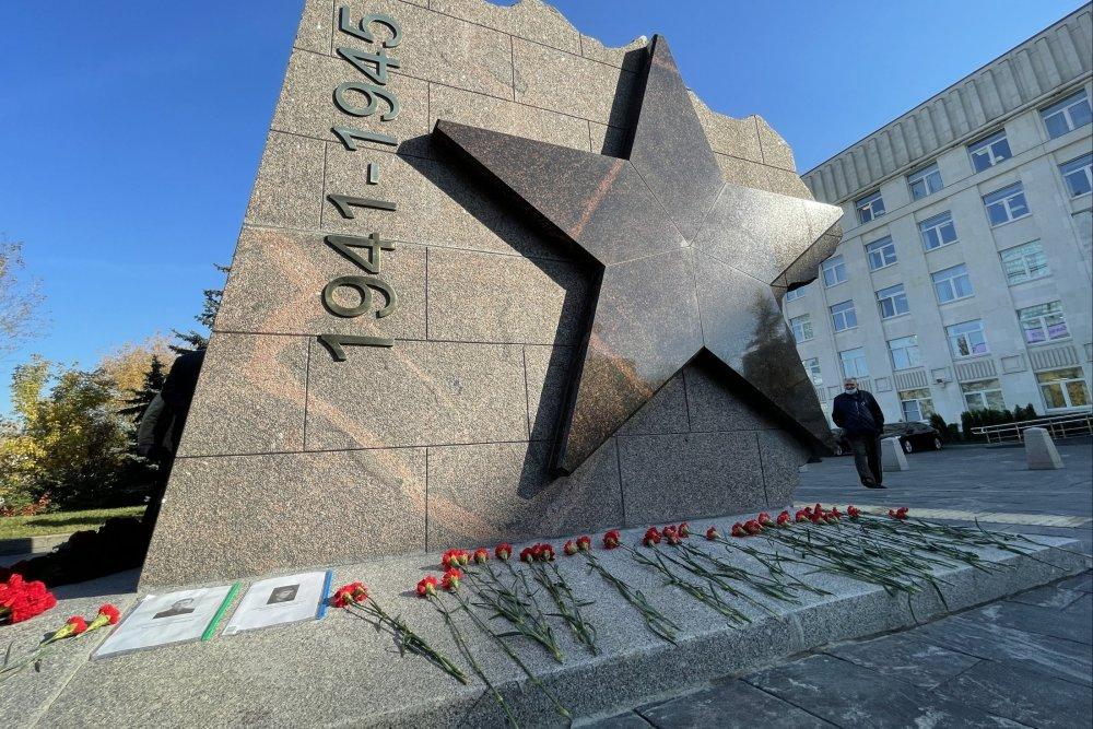 В Москве открыли знак в память о 21-й дивизии народного ополчения